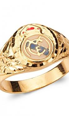 SELLO ORO REAL MADRID M/RM/EE